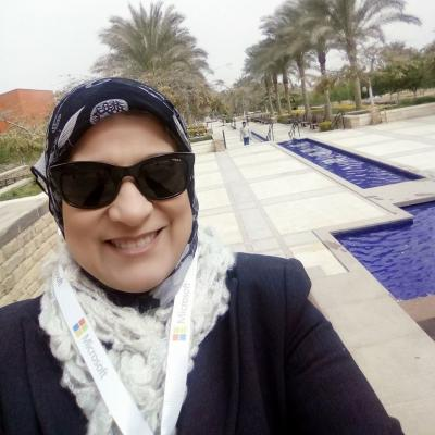 Soheir Zaki, Victory College, Alex, Egypt.