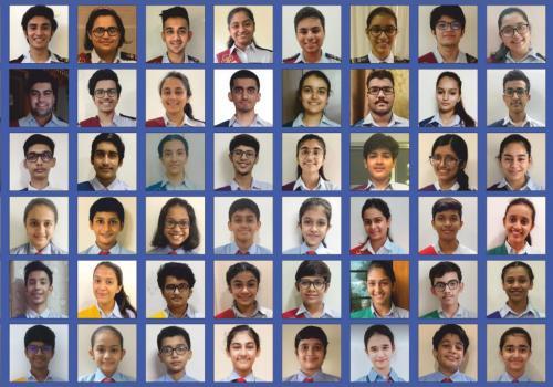 NAVRACHANA SCHOOL, SAMA, STUDENT COUNCIL 2020