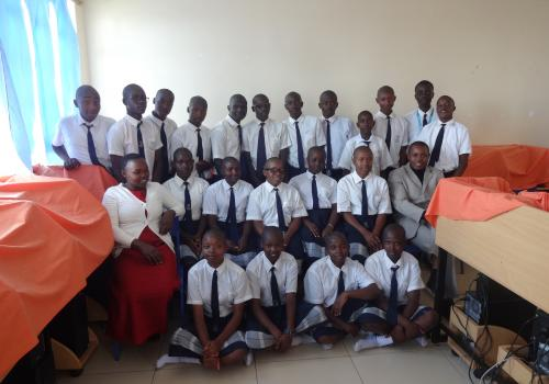 Mwongori High School Climate Action Project Class
