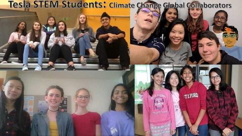 4 teams contibuting to climate change awareness