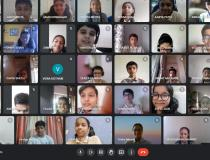 Students of 8A Class of Aspee Nutan Academy