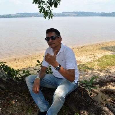 En la ciènaga San Silvestre, en mi ciudad: Barrancabermeja en Colombia
