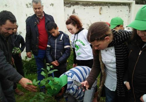 Group Scolaire Alfalah Taza are committed to environmental issues