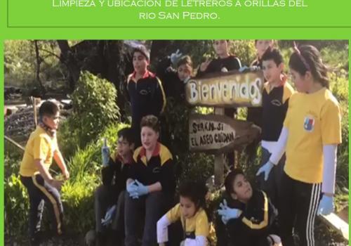 Forjadores Ambientales Escuela Nueva España