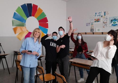 In our GCE course we are implementing  ESD-Global Schools Program