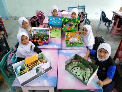 My Mini Aqua_Zoo Diorama Project