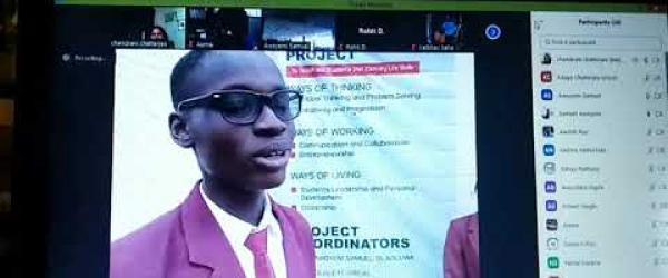 Embedded thumbnail for virtual exchange meeting with Caleb British School Nigeria
