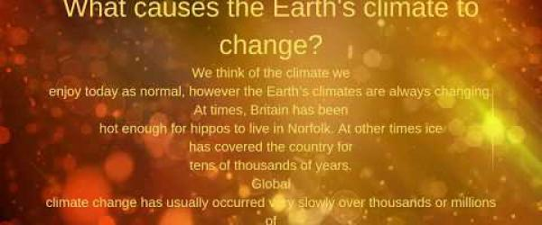 Embedded thumbnail for What causes the Earth's climate to change?