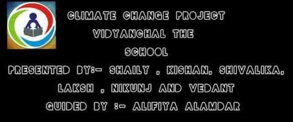 Embedded thumbnail for Climate Crisis-Vidyanchal The School, Akot